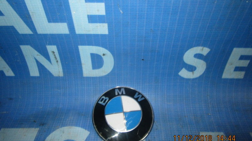 Emblema BMW E60; 8132375 (spate)