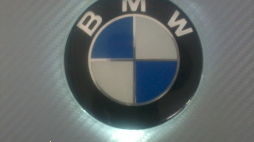 EMBLEMA BMW LUMINATA - EMBLEMA BMW CU LED