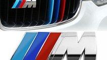 Emblema Bmw M Crom Grila