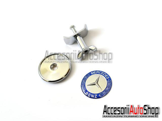 Emblema capota 45mm Mercedes