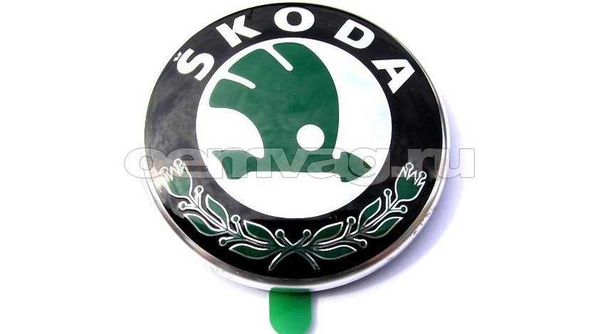 Emblema capota fata pt skoda ocatvia 2, fabia 2, roomster, superb, yeti