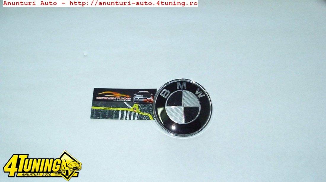 Emblema Carbon BMW 82mm Capota E36 E46 E39 E60 E90 E92 E93