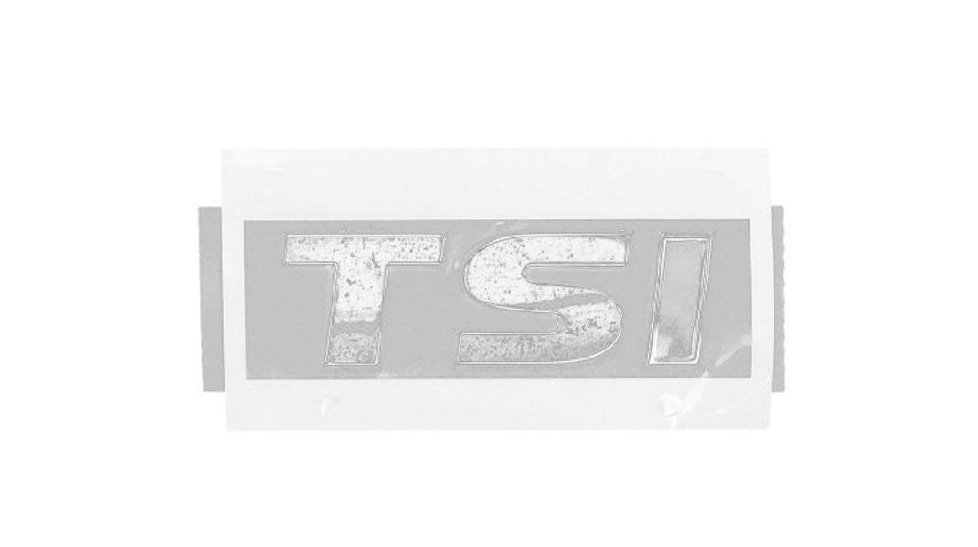 Emblema (crom/rosu) ''TSI'' VW GOLF dupa 2012 cod intern: CI6527CD