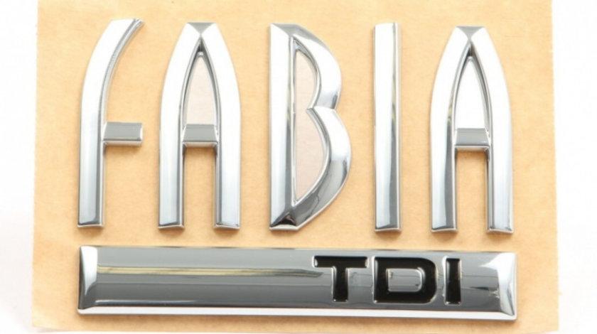 Emblema Fabia TDI Oe Skoda Fabia 1 1999-2008 6Y0853687BHFXC