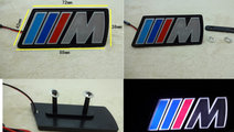 Emblema grila, Sigla led pentru grila BMW M