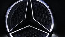 Emblema iluminata led Mercedes Benz grila 18.5cm s...