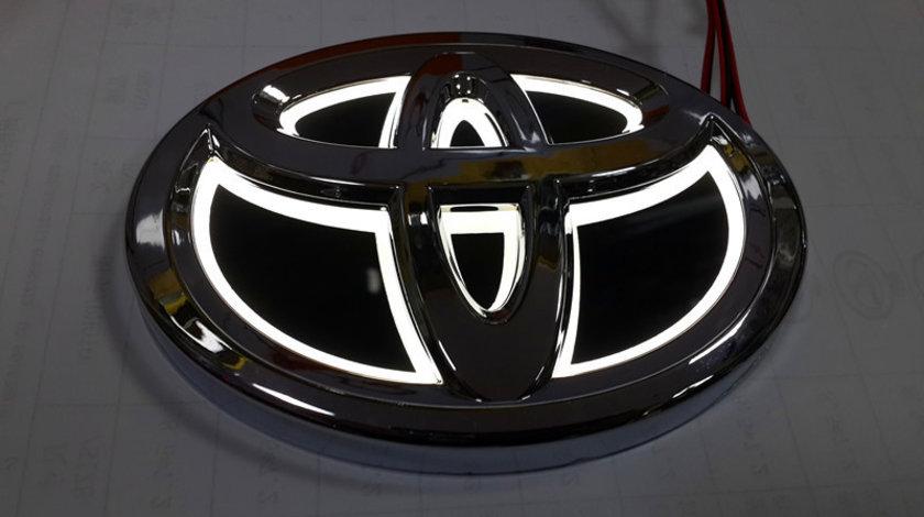 Emblema iluminata led Sigla Toyota Land Cruiser Rav4 Yaris Highlander Verso Hilux