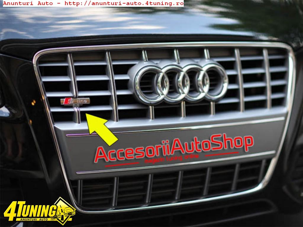 Emblema S line Audi A3 A4 A5 A6 A7 A8 etc 49 RON