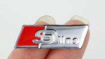 Emblema S-line volan metal Refit AUDI Q5 Q7 A1 A3 ...