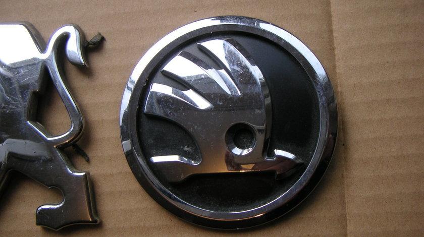 Emblema sigla spate Skoda Octavia 3, Skoda Rapid, Superb, Yeti 2014- cod 5JA853621