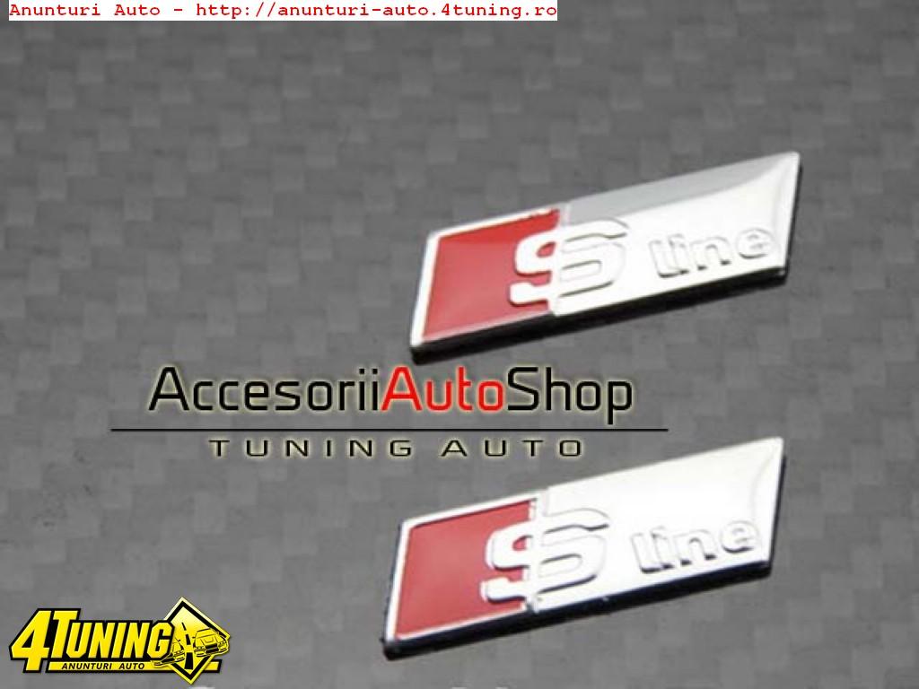 Emblema volan Sline Audi A3 A4 A5 A6 A7 A8 etc