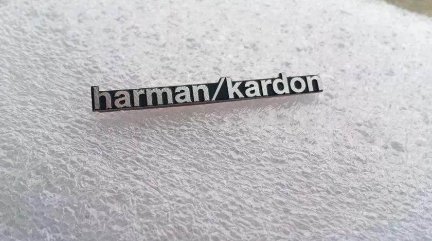 Embleme boxe din aluminiu, Harman/Kardon, JBL, Pioneer, DYNAUDIO.