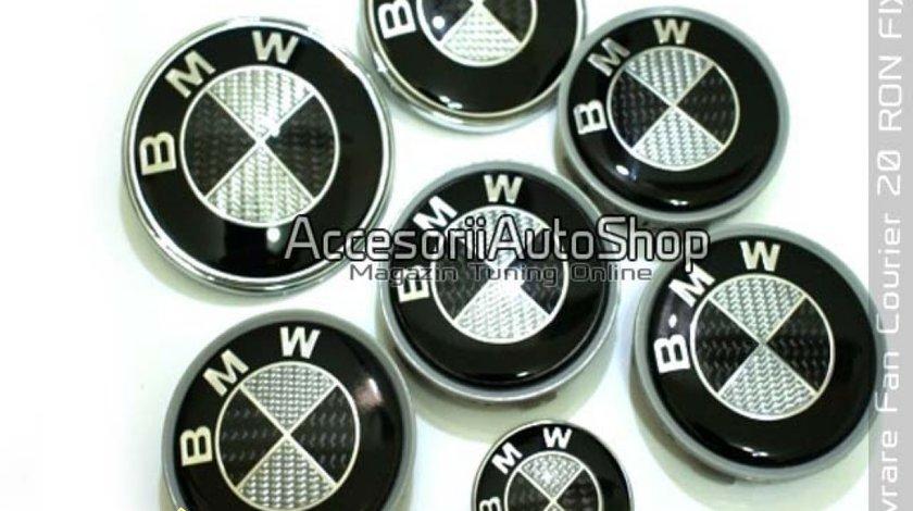 Embleme Jante BMW Carbon E36 E46 E39 E60 E90 X5 etc Carbon Real
