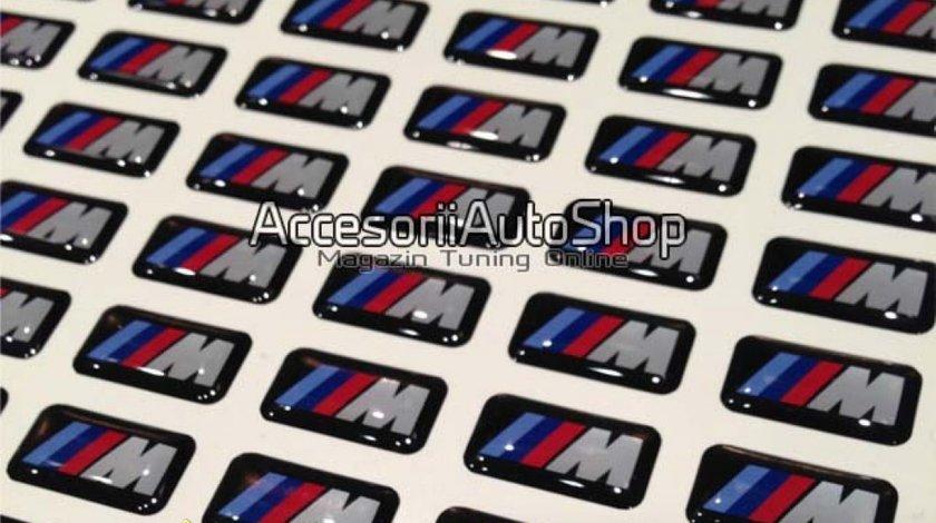 Embleme mici M BMW jante volan bord 15 RON BUCATA