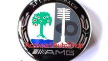 Embleme roti jante AMG Affalterbach Mercedes