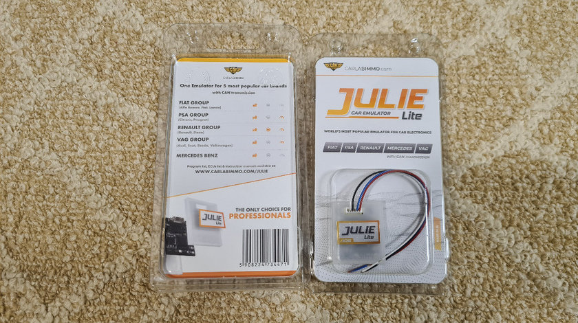 Emulator Julie Lite Original IMMO OFF Fiat VAG PSA Mercedes Renault
