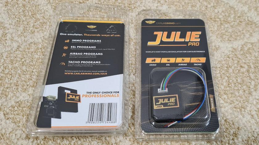 Emulator Julie Original v110 - IMMO OFF, AIRBAG, ESL & TACHO Emulator