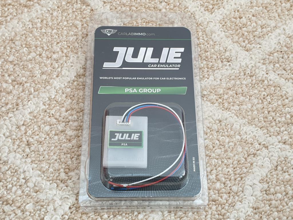 Emulator Julie PSA GROUP | IMMO OFF Emulator Citroen / Peugeot