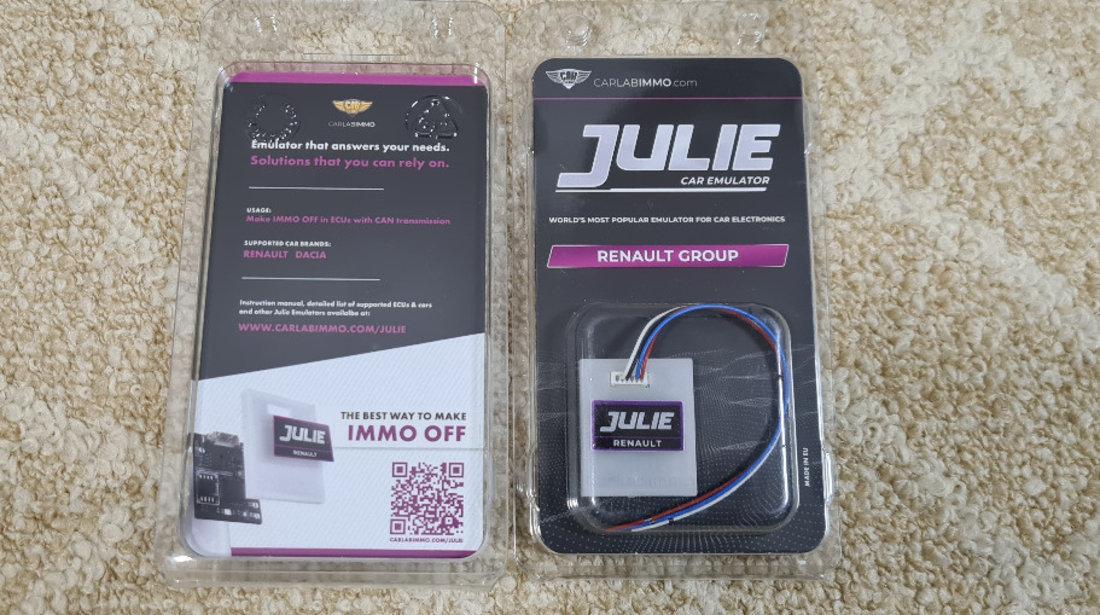Emulator Julie RENAULT GROUP | IMMO OFF & ESL Emulator
