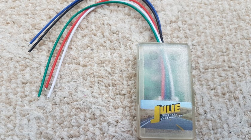 Emulator universal Julie CAN-BUS IMMO, ESL, senzor scaun, tacho programs