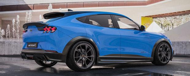 Englezii s-au apucat de tunat SUV-ul inspirat de Mustang. Primele imagini oficiale au fost publicate chiar acum