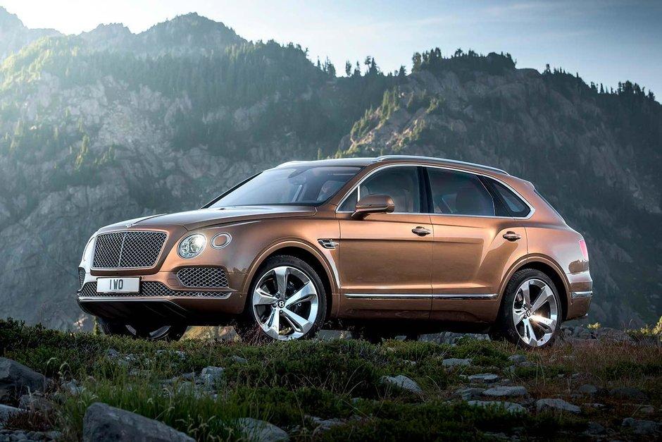 Englezilor le plac SUV-urile: Jaguar si Bentley anunta doua SUV-uri noi