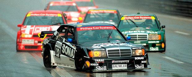 Epoca de aur a DTM-ului: scantei cu Alfa Romeo, Opel si Mercedes