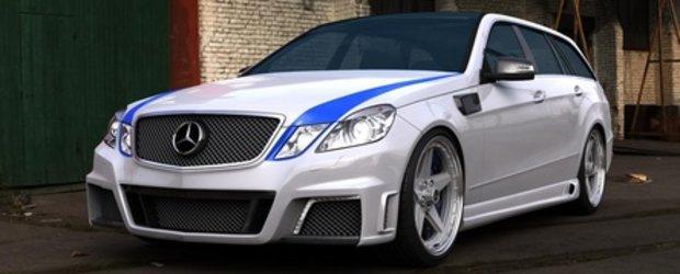 Epoca Renasterii: Mercedes E63 AMG Wagon by GWA-Tuning