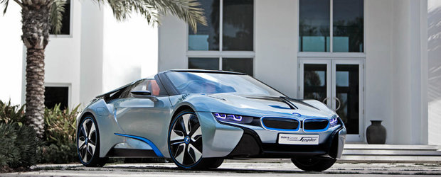 Era si cazul. BMW lanseaza i8 Roadster in 2018 cu un motor mai puternic si o baterie mai mare