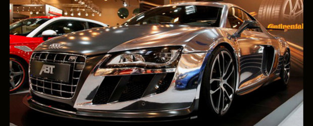 Essen Motor Show 2010 - ABT R8 GTR adora cromul!