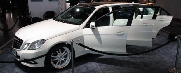 Essen Motor Show 2010 - Binz E-Class Limousine, o aparitie inedita la salonul german de tuning!
