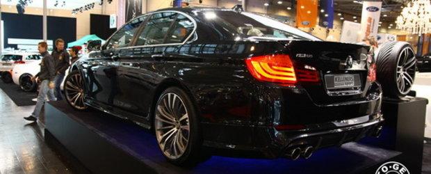Essen Motor Show 2010 - BMW Seria 5 by Kelleners Sport aduce savoarea viitorului M5