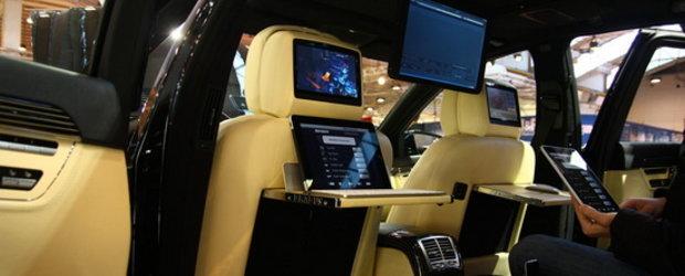 Essen Motor Show 2010 - Brabus iBusiness aduce Apple Store intr-un Mercedes S-Class de 800 CP!