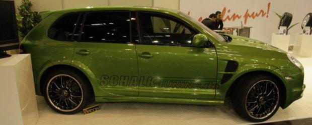 Essen Motor Show 2010 - Kermit... the Cayenne se alatura petrecerii!