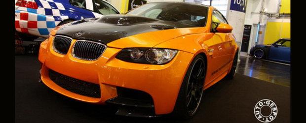 Essen Motor Show 2010 - Manhart V8RS, un BMW M3 Biturbo de 734 CP!