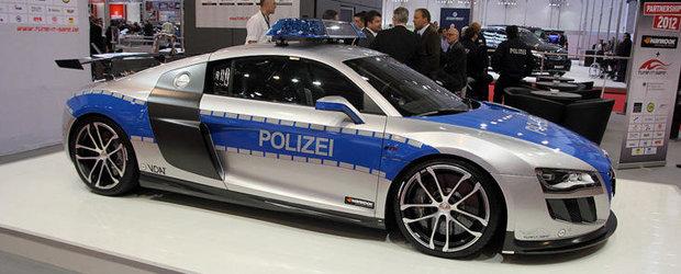 Essen Motor Show 2011: ABT R8 GTR promoveaza siguranta in tuning