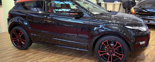 Essen Motor Show 2011: Noul Startech Evoque straluceste in lumina reflectoarelor