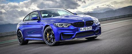 Este cea mai noua interpretare a seriei M4. Cum arata versiunea CS a sportivei BMW