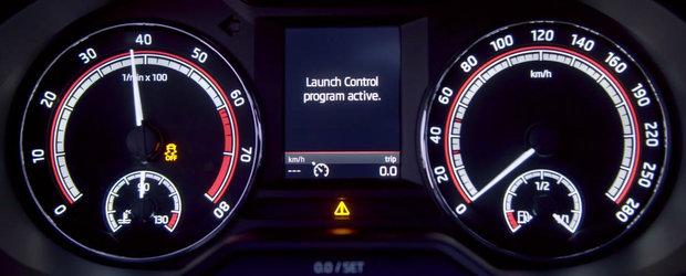 Este cea mai rapida Skoda Octavia din toate timpurile. Priveste-o ACUM in actiune!