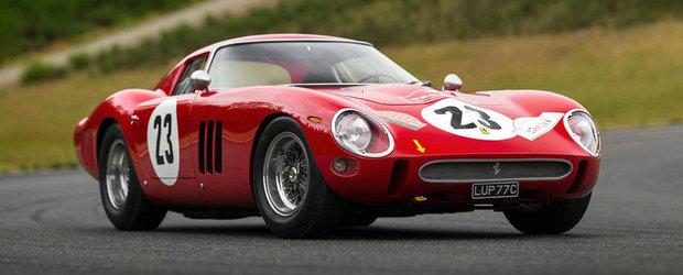 Este cea mai scumpa masina din istoria licitatiilor. Suma colosala platita pe acest Ferrari din 1962