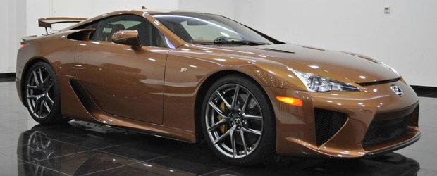 Este cel mai dorit Lexus, iar altul in culoarea asta nu vei gasi. Il poti avea pentru 645.000 de dolari