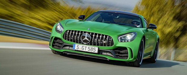 Este cel mai fioros Mercedes AMG al momentului. Cum arata si ce poate noul GT R din Stuttgart