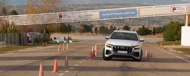 Este cel mai luxos SUV lansat vreodata de AUDI, dar siguranta este vitala. Cum se descurca Q8 la testul elanului