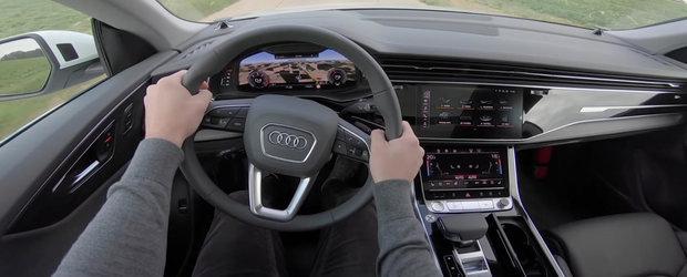 Este cel mai luxos SUV oferit vreodata de AUDI. Cum se vede lumea de la volanul noului Q8?