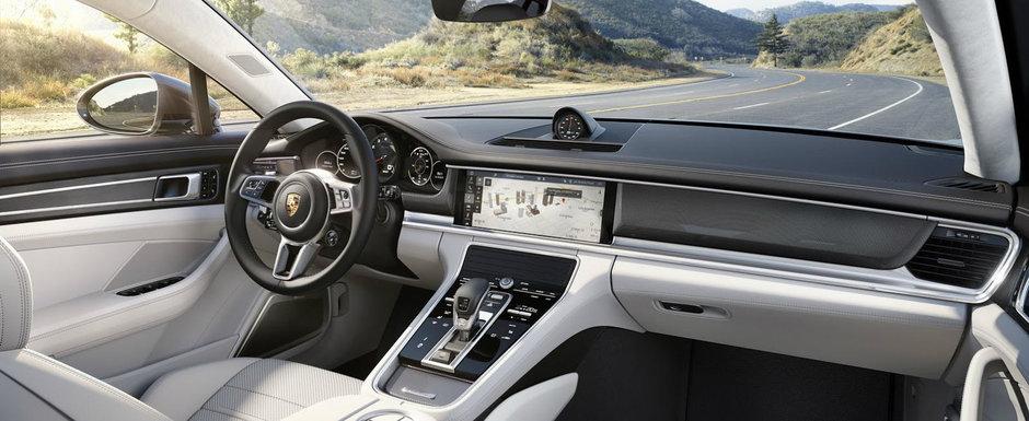 Este cel mai rapid sedan al planetei. In plus, interiorul sau te va lasa masca. AICI ai tot ce trebuie sa stii despre noul Panamera.