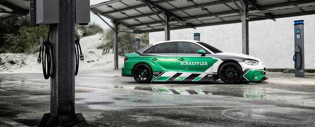 Este cel mai tare AUDI RS3 facut vreodata: are peste 1.000 de cai si nu consuma strop de combustibil