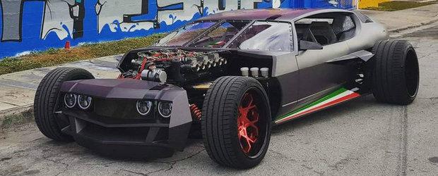 Este cel mai tare Lamborghini pe care il poti avea. Hot rod-ul cu motor V12 se vinde cu 750.000 de dolari