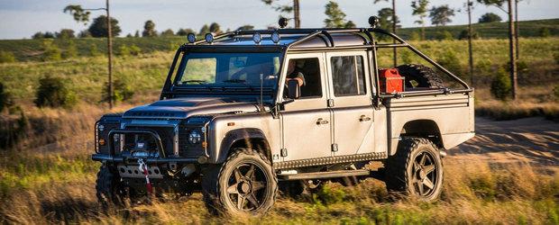 Este cel mai tare Land Rover pe care ti l-ai putea inchipui. Cat costa si ce performante are