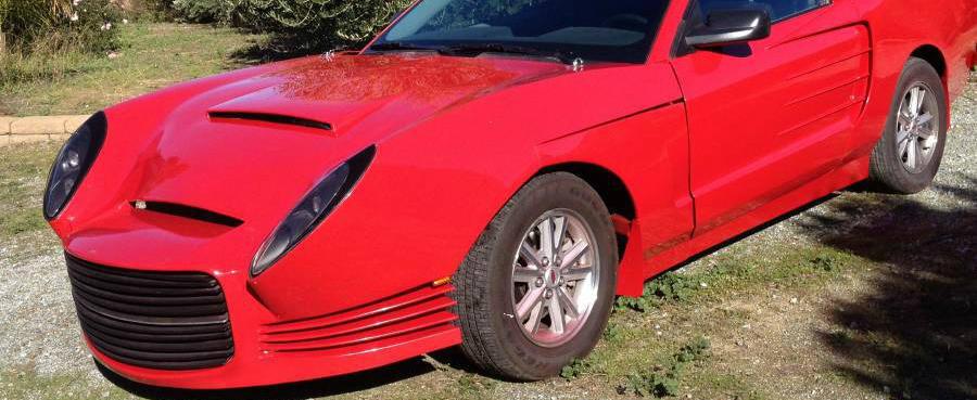 Este cel mai urat Ford Mustang pe care l-ai vazut. Unde mai pui ca acum se vinde pe suma asta