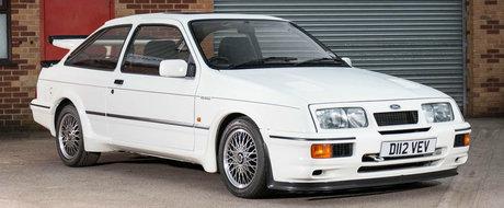 Este chiar PRIMUL Sierra Cosworth RS500 construit vreodata. Acum va ajunge in garajul celui care plateste mai mult